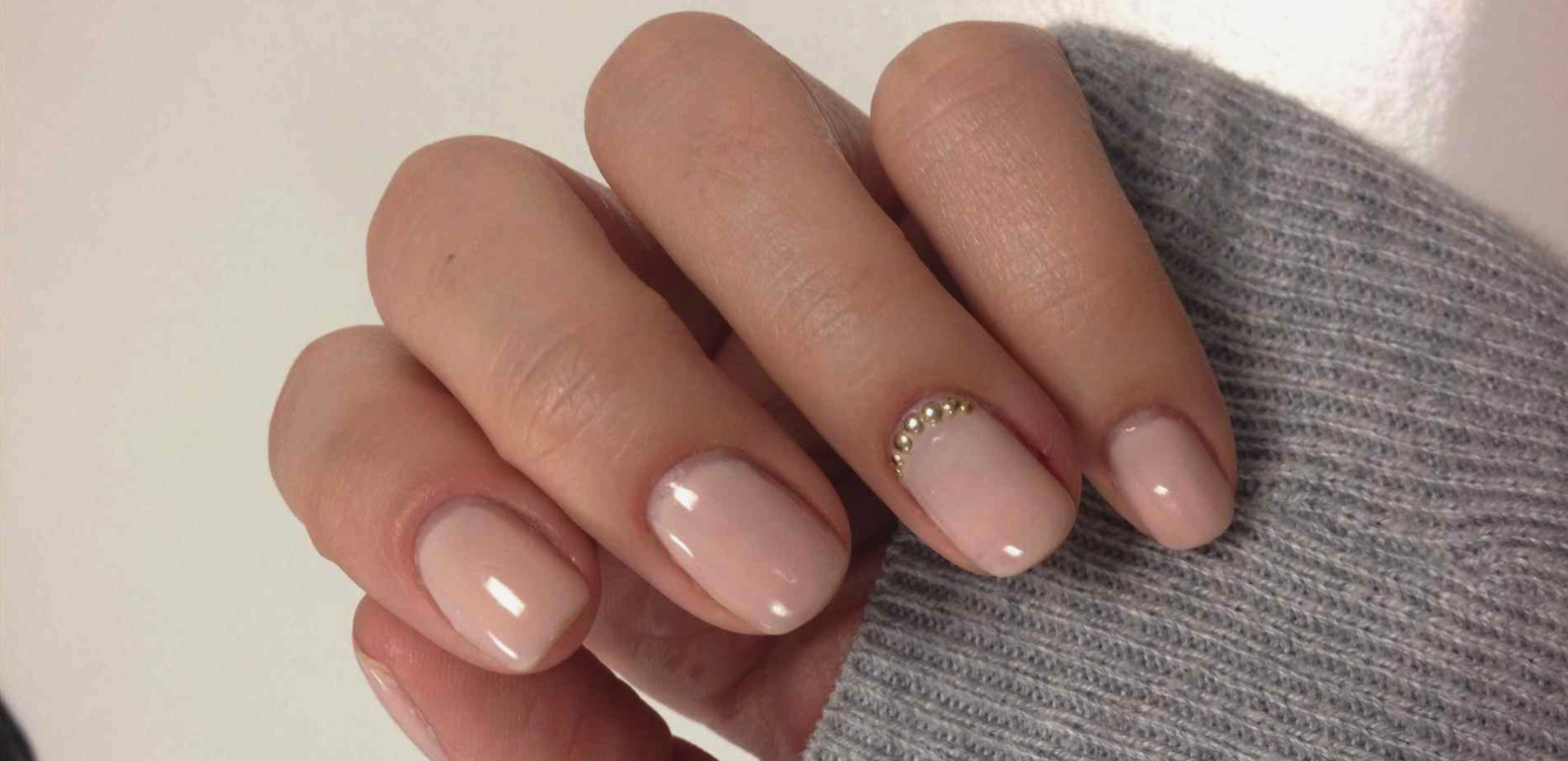 shellac manicure with polish removal