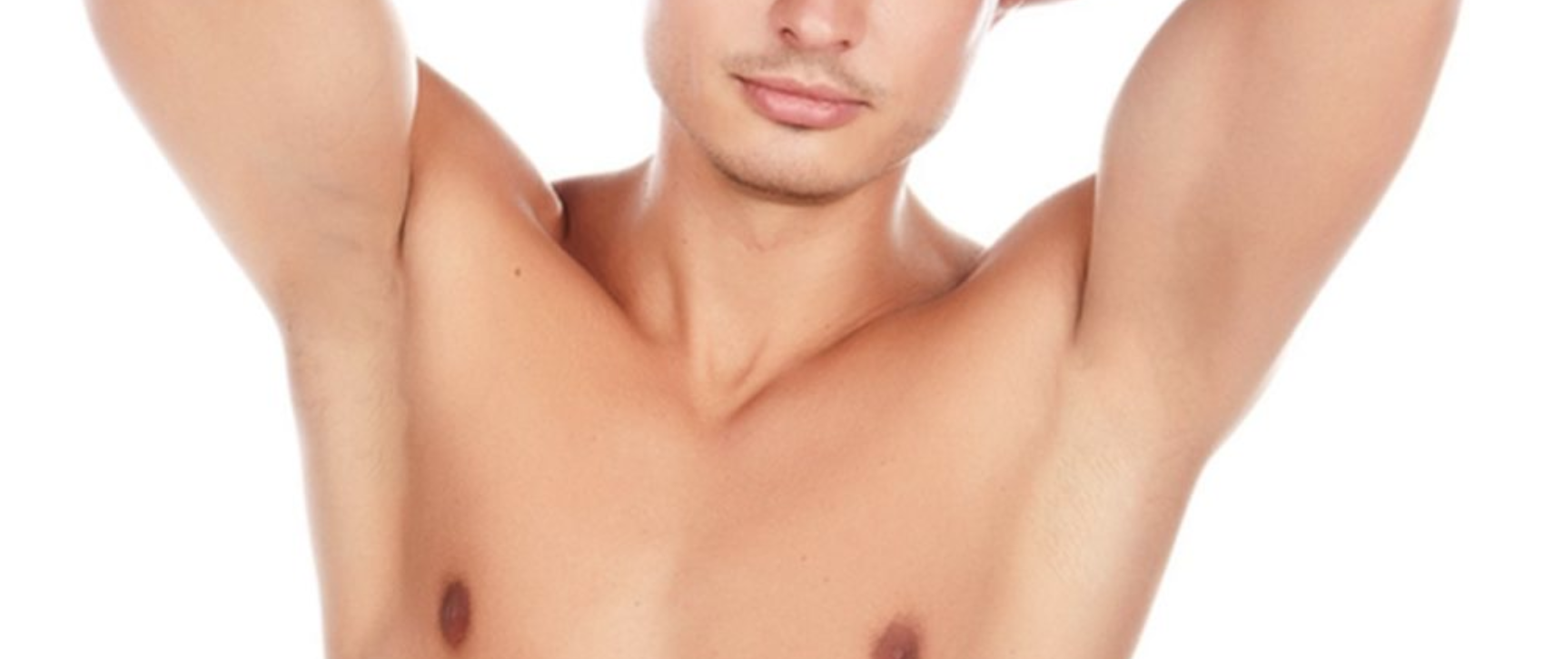 men's armpit waxing