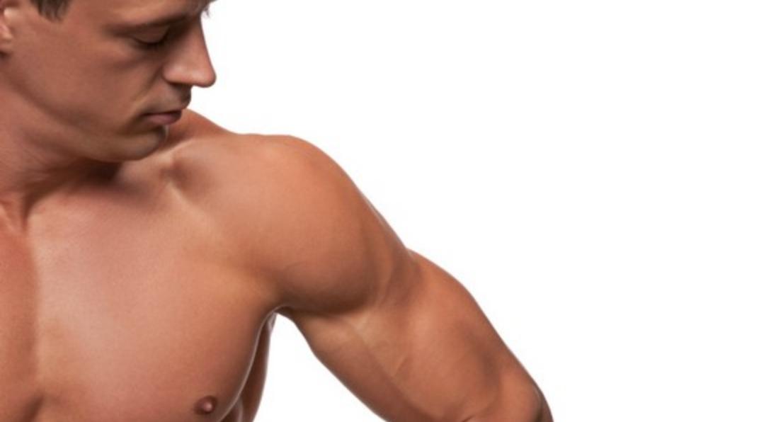men's arms waxing