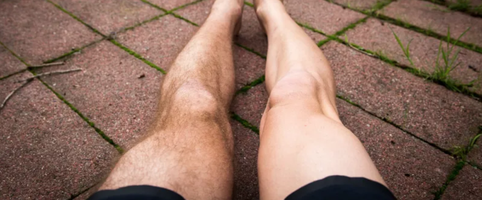men's legs waxing
