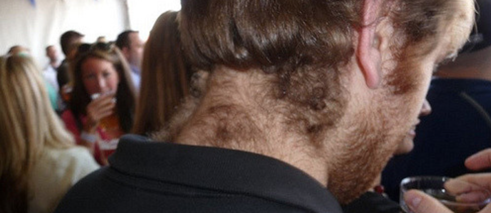 men's neck threading